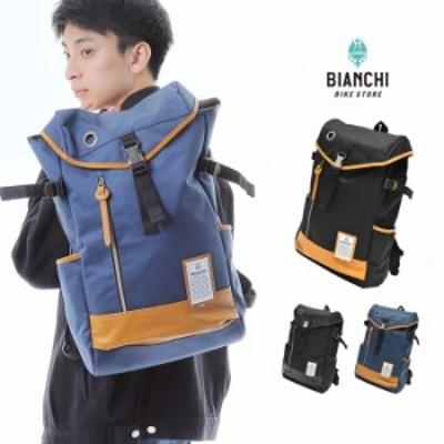 ビアンキ Bianchi リュック リュックサック フラップバックパック バックパック 鞄 BAG ユニセックス 男女兼用 シンプル お洒落 ベトナム