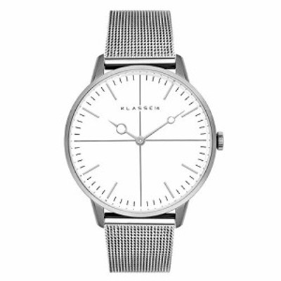 [クラス14] KLASSE14 腕時計 DISCO VOLANTE SILVER MESH DI16SR002W (シル (中古品)