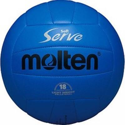 モルテン MOLTEN ソフトサーブ軽量バレーボール 4号球 [カラー:青] #EV4B スポーツ・アウトドア