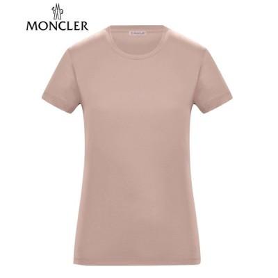 【海外限定・国内未入荷カラー】Moncler T-SHIRT Rose Pink Ladys 2020SS モンクレール Tシャツ ピンク レディース 2020年春夏