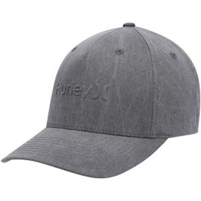 ハーレー メンズ 帽子 アクセサリー Hurley Bossed Snapback Hat Gray