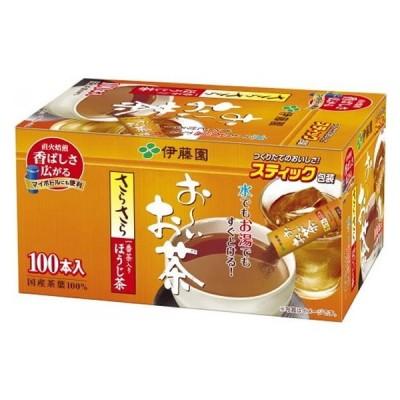 お〜いお茶 さらさらほうじ茶 スティック 100本 伊藤園 12306