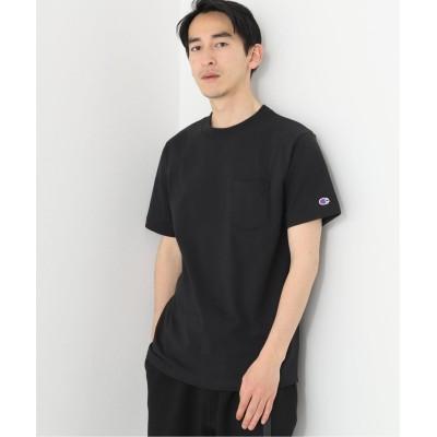 メンズ ボイスフロムベイクルーズ 【Champion / チャンピオン】shortsleeve T-shirt PK ブラック M