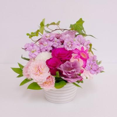 Fleurs et bonbons フルーエトボンボン  生花ホワイトデー アレンジメント
