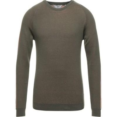 ソリッド !SOLID メンズ ニット・セーター トップス Sweater Military green