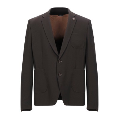 XAGON MAN テーラードジャケット ダークブラウン 56 レーヨン 68% / ナイロン 27% / ポリウレタン 5% テーラードジャケット