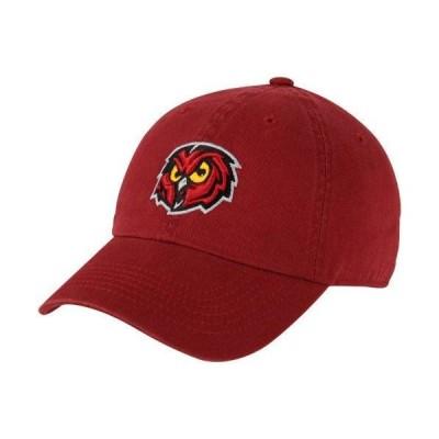ユニセックス スポーツリーグ アメリカ大学スポーツ Top of the World Temple Owls Crew Adjustable Hat - Cherry 帽子