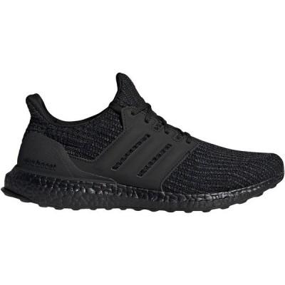 アディダス シューズ メンズ ランニング adidas Men's Ultraboost Running Shoes Black/Black