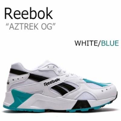 リーボック スニーカー REEBOK AZTREK OG アズトレックOG WHITE ホワイト BLUE ブルー CN7067 RBKCN7067 FLRB8F3U04 シューズ