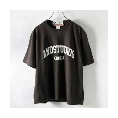 tシャツ Tシャツ Satelite/サテライト 発泡プリント半袖Tシャツ PTEE 82 COLLEGE