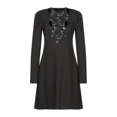 ジャンバティスタ ヴァリ GIAMBATTISTA VALLI ミニワンピース&ドレス ブラック 40 レーヨン 98% / ポリウレタン 2% /