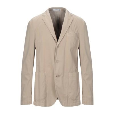 マニュエル リッツ MANUEL RITZ テーラードジャケット ベージュ 52 コットン 97% / ポリウレタン 3% テーラードジャケット
