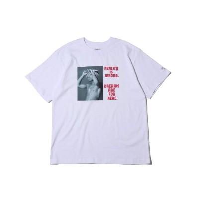 【アトモス】 アーティズ チ ビショップ ティーシャツ レディース ホワイト M atmos