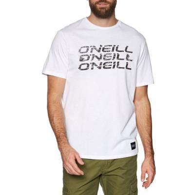 オニール O'Neill メンズ Tシャツ トップス triple short sleeve t-shirt Super White