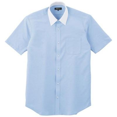 コーコス Z半袖シャツ サックス 4L ※取寄品 37