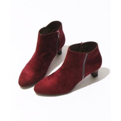 ブーツ 4.5cmサイドラインショートブーツ