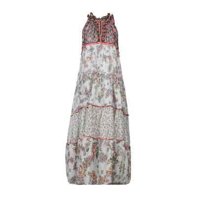 アンジュナ ANJUNA ロングワンピース&ドレス ホワイト S コットン 100% ロングワンピース&ドレス