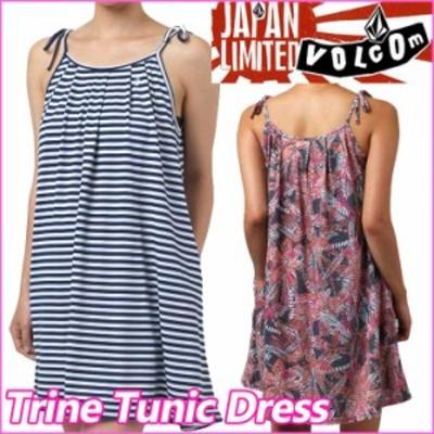 volcom  ボルコム レディース ワンピース 【Trine Tunic Dress 】 チュニックキャミワンピース VOLCOM 【返品種別】