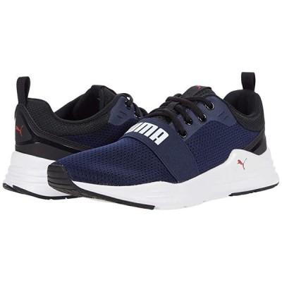 プーマ Wired Run メンズ スニーカー 靴 シューズ Peacoat/Puma White