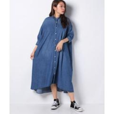 MELROSE Claire(メルローズ クレール)【Healthy denim】Clematis
