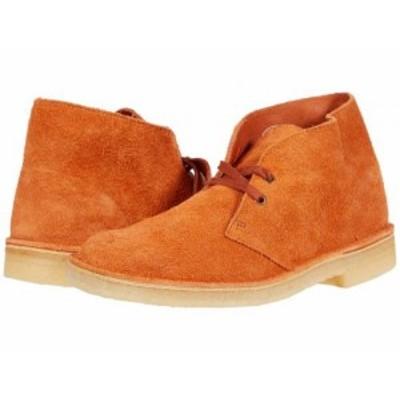 Clarks クラークス メンズ 男性用 シューズ 靴 ブーツ チャッカブーツ Desert Boot Ginger Suede【送料無料】