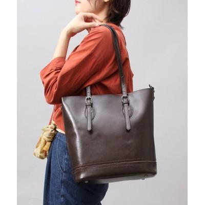 A.M.S. / 【A.M.S./エーエムエス】 スプリットレザー(牛床革) トートバッグ / レザー トート バッグ WOMEN バッグ > ビジネスバッグ