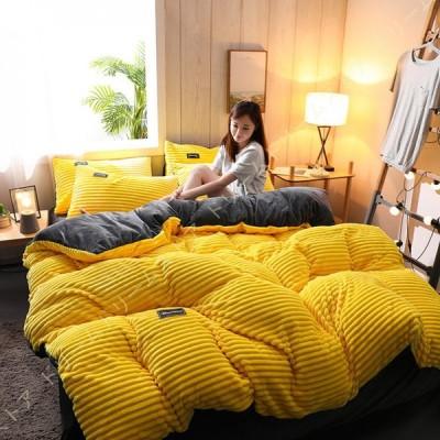 ベッドカバー 寝具カバーセット 姫系 北欧 モダン 布団カバー  フランネル 暖かい 可愛い フリル付き 小花柄 フラワー フラットシーツ マットレスカバー