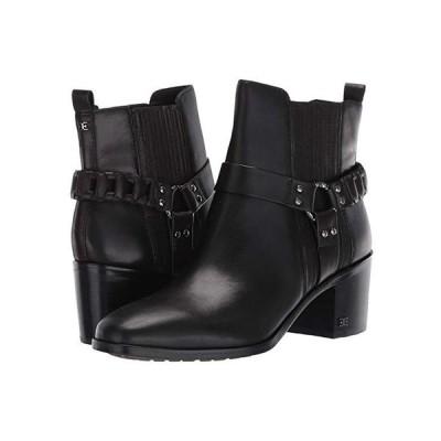サム エデルマン Dalma レディース ブーツ Black Vaquero Saddle Leather