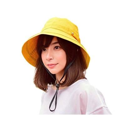 uvカット 帽子 レディース RUIBIAN 日よけ帽子 焼け避け 紫外線対策 熱中症予防 取り外すあご紐 サイズ調節可 可