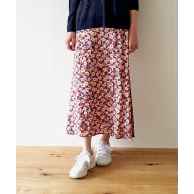 【アーバンリサーチ/URBAN RESEARCH】 DOORS mys paris フラワータイトロングスカート