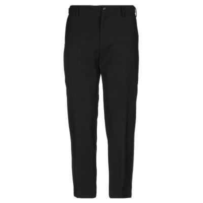 ボークー ..,BEAUCOUP パンツ ブラック 44 コットン 70% / アクリル 20% / 指定外繊維 10% パンツ