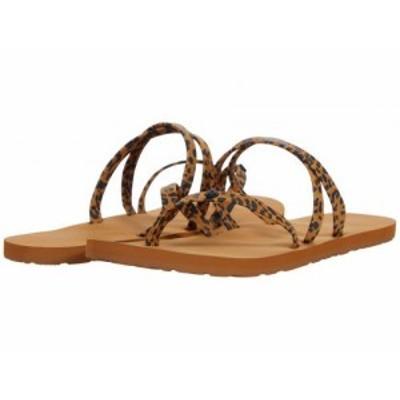 Volcom ヴォルコム レディース 女性用 シューズ 靴 サンダル Easy Breezy II Sandal Cheetah【送料無料】