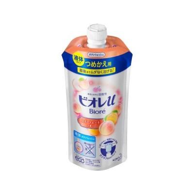 ビオレu スイートピーチの香り つめかえ用 340mL