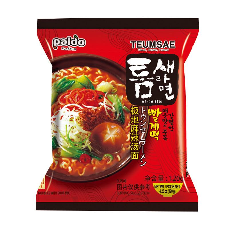 Paldo 極地麻辣湯麵120g