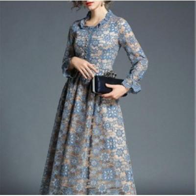 ワンピースドレス ワンピース ドレス 結婚式ドレス レースマキシワンピースドレス ワンピース ドレス a0309