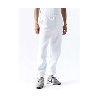ティーシャツドットエスティー スウェットパンツ 無地 裏起毛 裾ゴム始末 マックスヘビー 12.4oz メンズ ホワイト S