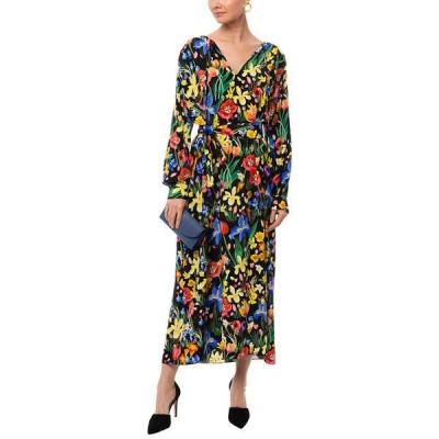 チンティアンドパーカー ワンピース トップス レディース Chinti & Parker Silk Dress Charleston floral