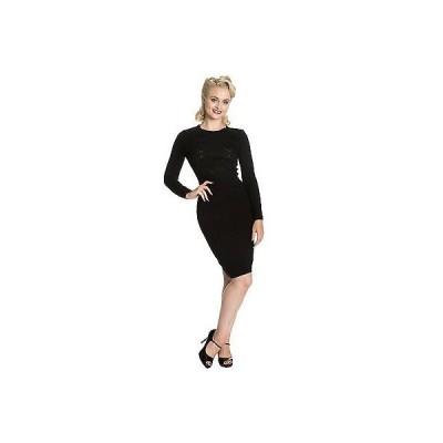 バーンド ドレス ワンピース Dancing Days レディース ストレッチy Fitted 1950s ビンテージ Work Career Jumper ドレス UK