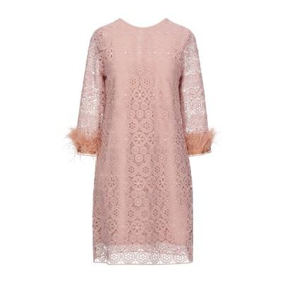 DIXIE ミニワンピース&ドレス ローズピンク S ポリエステル 100% ミニワンピース&ドレス