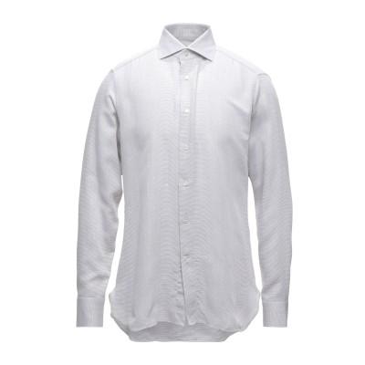 エルメネジルド ゼニア ERMENEGILDO ZEGNA シャツ ホワイト 39 コットン 100% シャツ