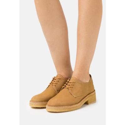クラークス レディース 靴 シューズ MARU LONDON - Lace-ups - natural