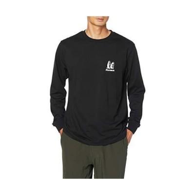 [マーモット] クルー(長袖) Marmot Old Logo L/S Crew/マーモットオールドロゴロングスリーブクルー メンズ BK 日本 XL (