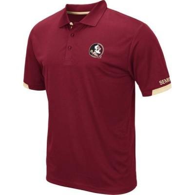 コロシアム メンズ ポロシャツ トップス Colosseum Men's Florida State Seminoles Garnet Fore Polo