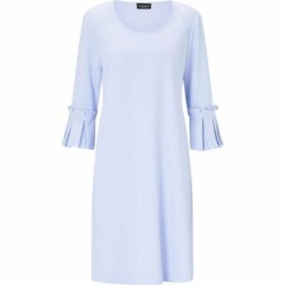 ジュームズ レイクランド James Lakeland レディース ワンピース ワンピース・ドレス Pleated Cuff Dress Pale Blue
