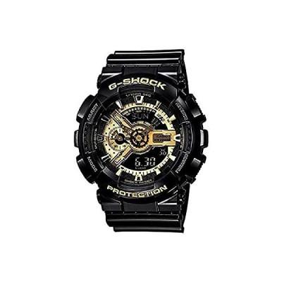 CASIO[カシオ] MODEL NO.ga110gb-1a G-SHOCK (GA-110GB-1A) ゴールド×ブラック 腕時計 ウオッチ [並行