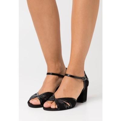 カプリス レディース サンダル Sandals - black
