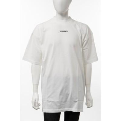 ヴェトモン Vetements Tシャツ 半袖 丸首 クルーネック ホワイト メンズ (UE51TR540W) 送料無料 2021年春夏新作