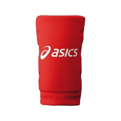 asics アシックス ソフトボール用ニーパッド(左右兼用) レッド 野球 BEE-28-23