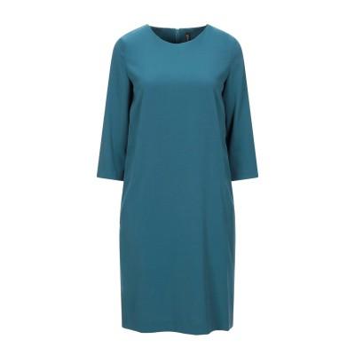 マニラ グレース MANILA GRACE ミニワンピース&ドレス ディープジェード 38 ポリエステル 68% / レーヨン 28% / ポリウレ