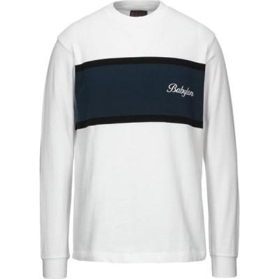 ベビーロニア BABYLON LA メンズ Tシャツ トップス t-shirt White